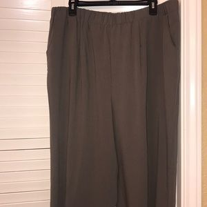 c5ba0f6a07f dressbarn Pants - Dark Grey Plus Size Women s Pants